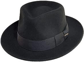 Scala Classico Men's Crushable Wool Felt Fedora
