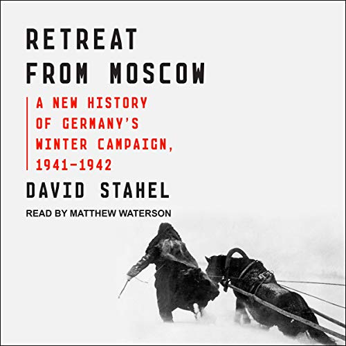 Retreat from Moscow audiobook cover art