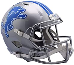 Riddell Detroit Lions NEW 2017 Officially Licensed Speed Full Size Replica Football Helmet