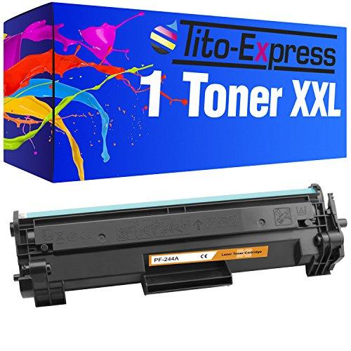 Tito-Express PlatinumSerie 1x Toner XXL für HP CF244A 44A Black Laserjet Pro M15a M15w M16 M17a M17w MFP M28a M28w M29 M30w M 15 A M 15 W M 16 M 17 A M 17 W MFP M 28 A M 28 W M 29 M 30 W