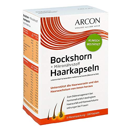 Arcon Bockshornklee Kapseln - 180 Stück