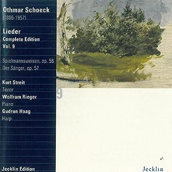 Othmar Schoeck: Lieder - Complete Edition, Vol. 9