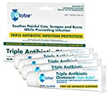Triple Antibiotic + Pain Relief Dual Action Ointment, 1 Oz (4 - Pack)