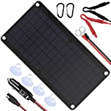 Best Solar Chargers - POWISER 10W 12V Solar Panel Car Battery Charger Review