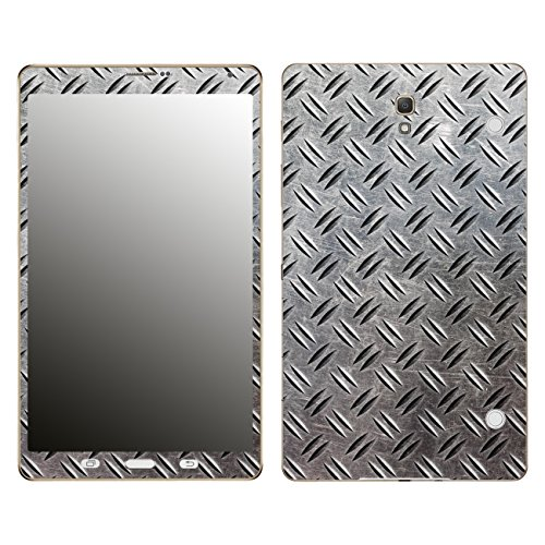 'Disagu SF 106097_ 1043Designer Film for Samsung Galaxy Tab S with Phone with German Motif'Checker plate Realisitsch Clear