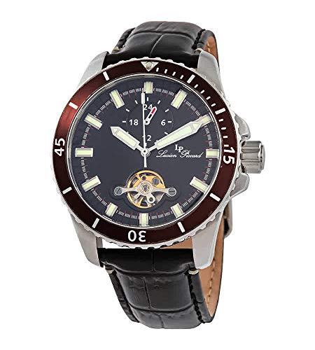 Lucien Piccard Automatic Black Dial Men's Watch 1298A1