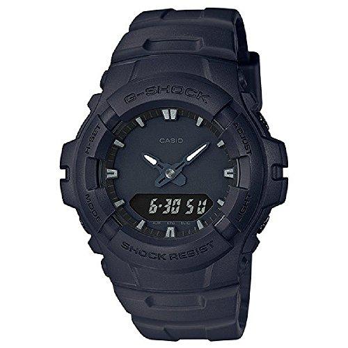 Casio G-Shock Matt Black Men's Watch G-100BB-1A [並行輸入品]
