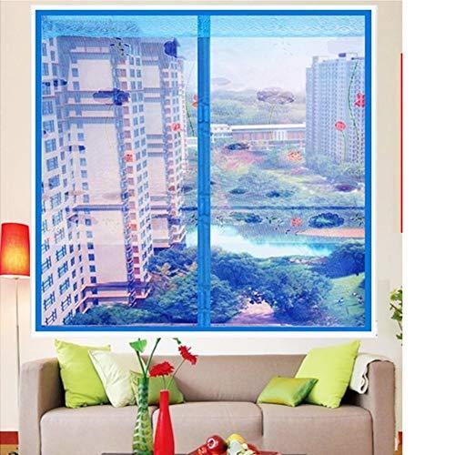 Rete magnetica autoadesiva per finestra, fai da te con adesivi magici in rete resistente anti-zanzare per finestra, adatta per finestre di massimo 35 x 47 cm, 150 x 120 cm