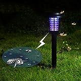 Mobestech - Mosquitera Solar Killer, mosquitera Solar para mosquitera para jardín, Patio o Patio (1 Unidad, Negro)