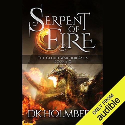 Serpent of Fire audiobook cover art