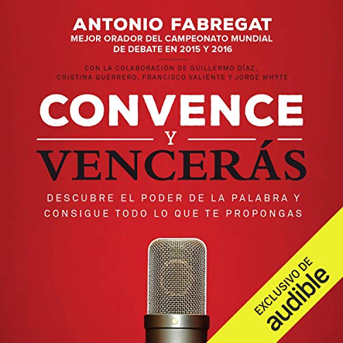 Convence y vencerás audiobook cover art