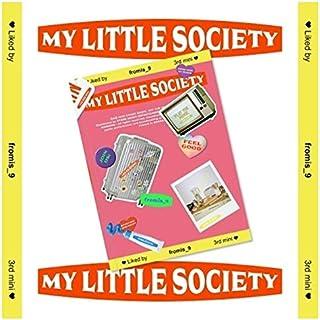 Fromis_9 My Little Society 3rd Mini Album My Account Version CD+72p PhotoBook+1p Mini Card+2p PhotoCard+Message PhotoCard ...