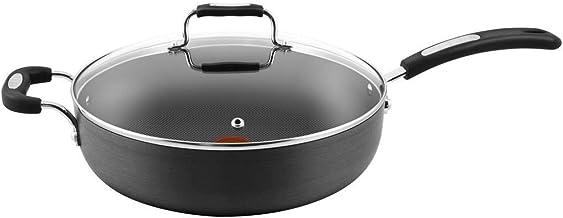 Tefal Hard Anodised Specialty Saute Pan, 30 cm Diameter Black