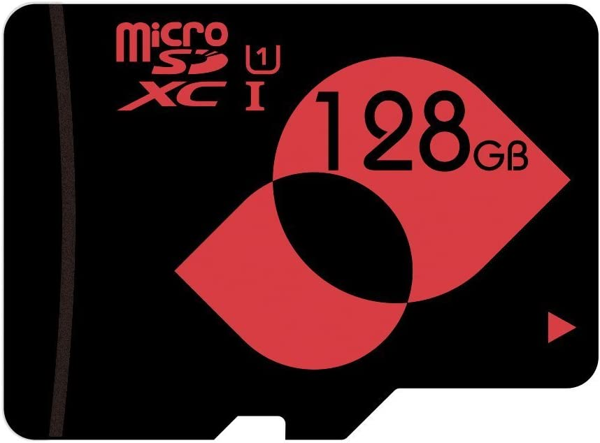 mengmi Micro SD Card Class 10 (C10) 128GB microSDXC/TF Flash Memory Card UHS-I(U1) with Free microSD Adapter(128GB U1)