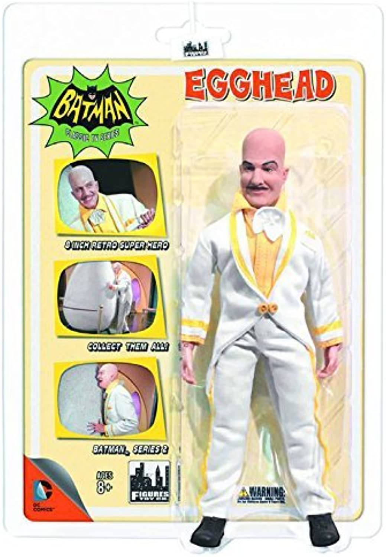 para proporcionarle una compra en línea agradable Batman Classic TV Series Series Series Series 2 Egghead Retro Figura  barato