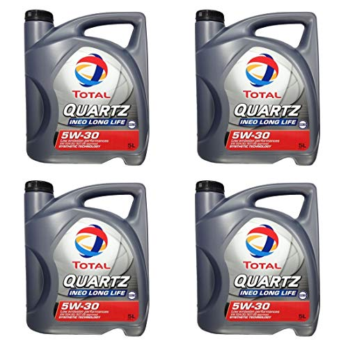 4 x 5 Liter Total Quartz Ineo LongLife 5W-30