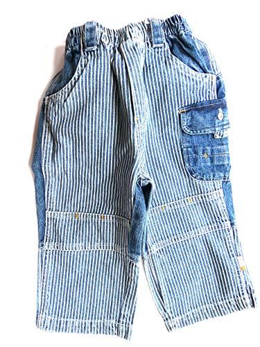 Villa Happ Baby Jungen Jeans, gestreift v gr.80