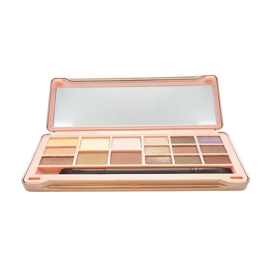 ほとんどの場合スクラッチ極めて(3 Pack) OKALAN 16 Shade Natural Eyeshadow Palette - B (並行輸入品)