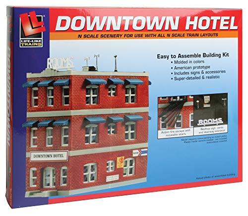 échelle N Kit De Construction Centre ville Hotel NEU