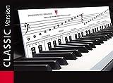 Aprende a tocar el piano con alegría y diversión. Plantillas con teclas: notas musicales, orientació...