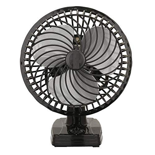 Enamic UK IS Laurels || Wall Cum Table Fan Cutie 9 Inch Black C-24