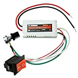 uniquegoods CCMFC 12V 2A DC Motor Speed Controller Adjustable Variable Speed Switch PWM DC Voltage Switching Regulator Control Speed of a DC Fan