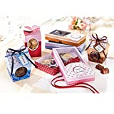 folia 976 - Geschenkschachteln, Süßes Verpacken, 9 Schachteln zum selber Basteln, ideal für...