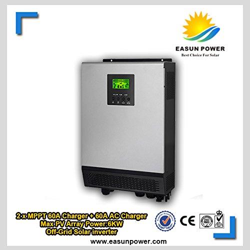10 KVA - 8KW 48VDC Solar Hybrid inversor con 12KW 2MPPT Solar mando y 60 A cargador de batería