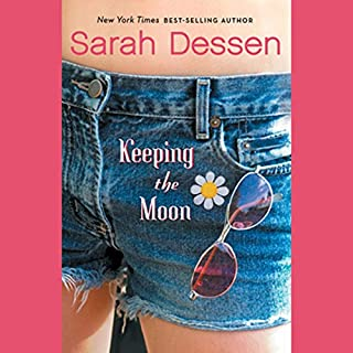 Keeping the Moon audiobook cover art