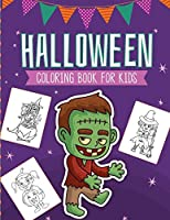 Halloween Coloring Book For Kids: Crafts Hobbies - Home - Activity Book for Kids 3-5 - For Toddlers - Big Kids