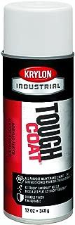 Krylon A03720 16-Oz. Tough Coat Flat White Acrylic Enamel, 16 Oz (Pack of 12)