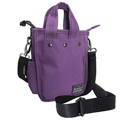 Süße iPhone 11 Umhängetasche für Damen und Mädchen, Einkaufstasche mit Schultergurt (lila)