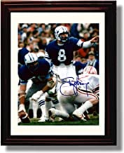 Framed BYU Steve Young Autograph Replica Print - Brigham Young University
