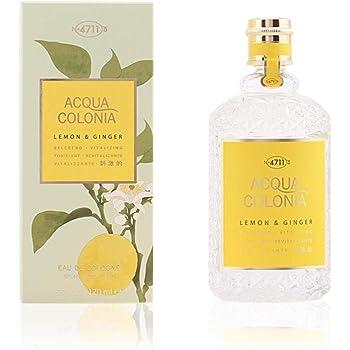 4711 Acqua Colonia Lemon and Ginger Eau de Cologne Spray, 5.7 Ounce