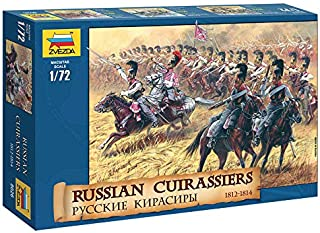Zvezda 8026 - Russian Cuirassiers 1812-1814 - Plastic Model Soldiers Kit Scale 1:72 1