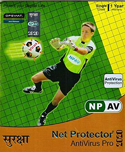 NPAV Net Protector Anti-Virus Pro 2021 – 1 PC, 1 Year (Email Delivery – No CD)