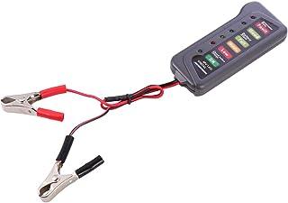 Garneck Testador de bateria de carro voltímetro sistema de carregamento analisador inteligente de bateria para carros e ca...