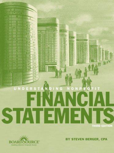 Understanding Nonprofit Financial Statements, 3rd