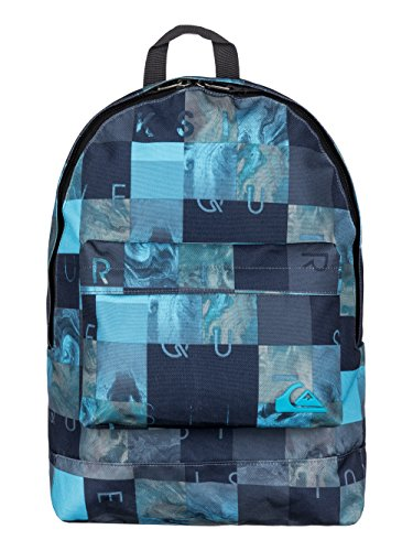Quiksilver Herren Rucksack Everyday Poster, Bp Checks Hawaiian Ocean, 50 x 32 x 34 cm, 16 Liter, EQYBP03140-BMJ9