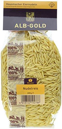 AlbGold Nudelreis, 6er Pack (6 x 500 g Packung)