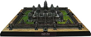 HugeHug World Famous Building Assembly 3D Puzzle Paper Model - Castle Tower Angkor Wat