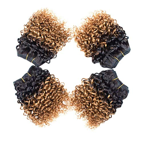 8 inch curly weave _image0
