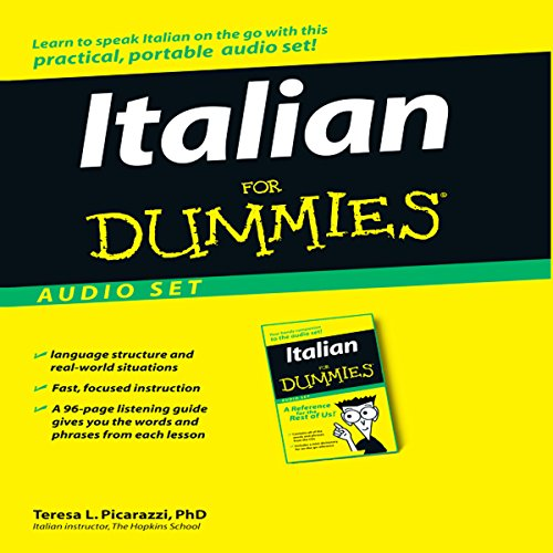Italian For Dummies audiobook cover art