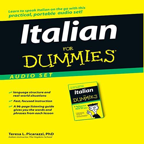 Italian For Dummies cover art