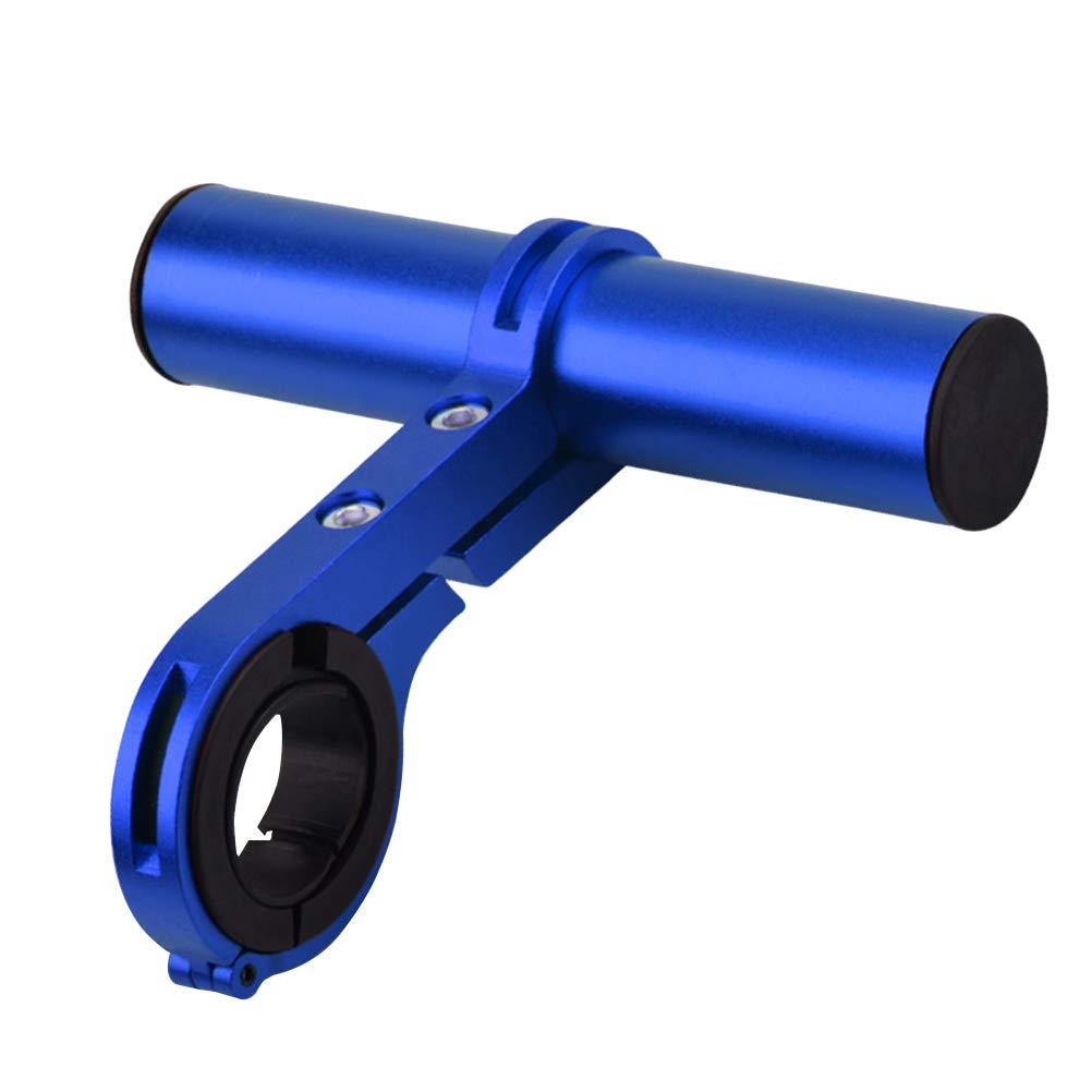 LIOOBO Manillar Elevador Aleación de Aluminio Multifunción Extensiones de Manillar Bicicleta de montaña Bicicleta de Carretera (Azul): Amazon.es: Deportes y aire libre