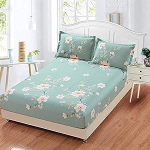 huyiming Se USA para la sábana de una Sola Pieza, 100 Impresos, Antideslizantes, colchón, Dormitorio, Dormitorio, Colcha 150X200cm