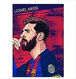JIANGGE Fußball-König Superstar Lionel Messi, Kunst