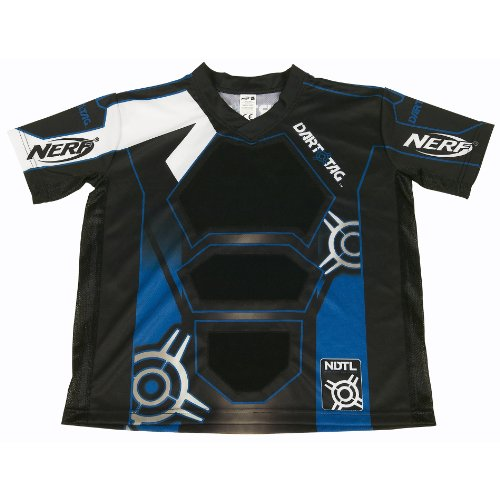 NERF DART TAG Official Competition Jersey - Blue (Small/Medium)