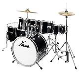 XDrum Junior Pro Kinder Schlagzeug Drumset (geeignet von 5-9 Jahren, mit...