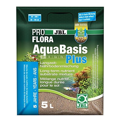 JBL Langzeit-Bodenmischung für Süßwasser Aquarien, AquaBasis Plus - 2